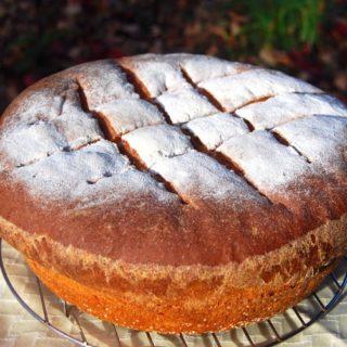 All-Whole-Wheat Sourdough Bread