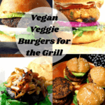 Vegan Veggie Burgers designed for the grill