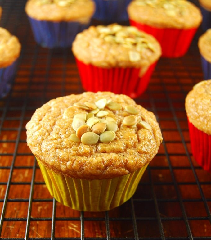 Photo of Date and Lime Muffins