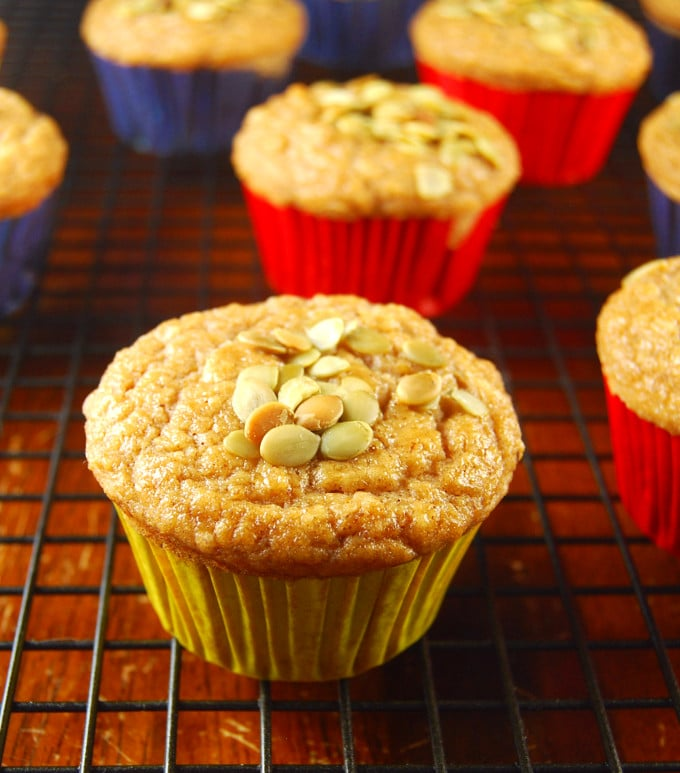 Date and Lime Muffins