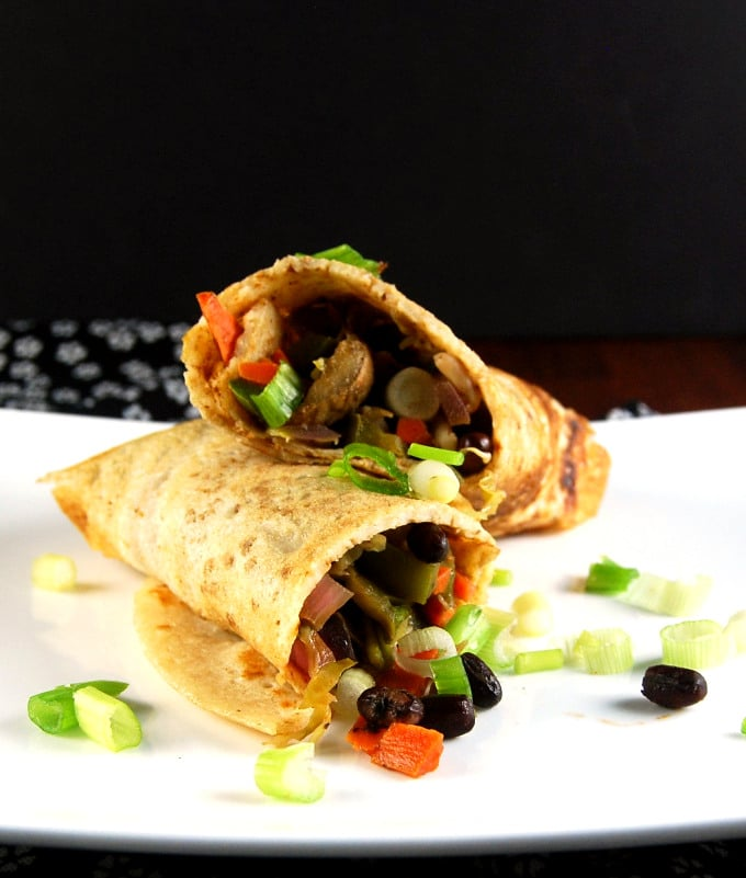 Dosa Spring Roll