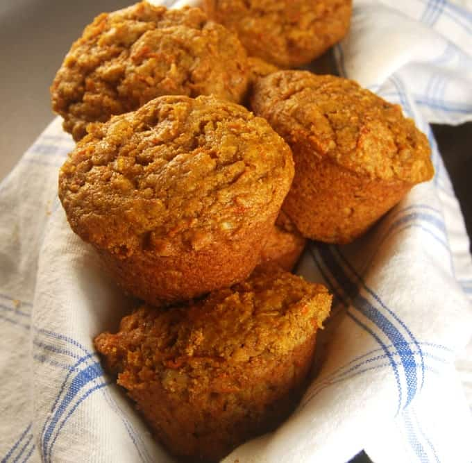 Vegan Carrot Muffins