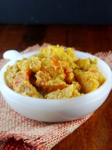 Curried Acorn Squash holycowvegan.net