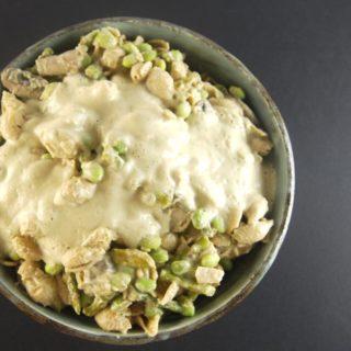 Pasta with Roasted Cauliflower Cashew Sauce