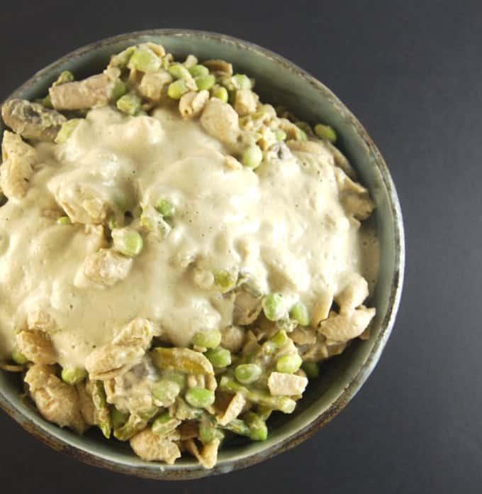 Roasted Cauliflower Cashew Sauce