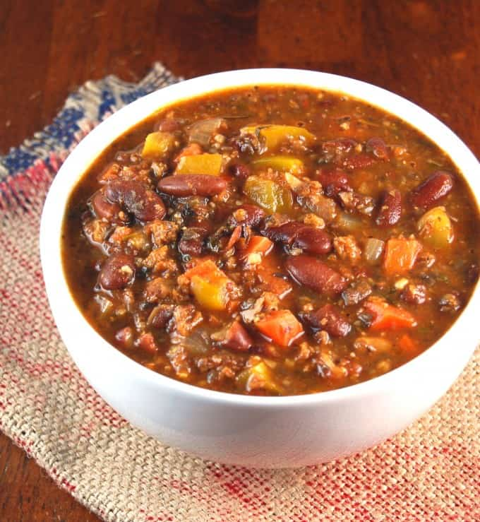 Easy Vegan Chili - Holy Cow! Vegan Recipes