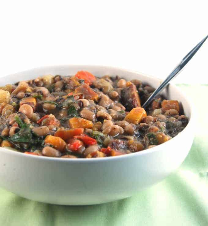 Black Eyed Peas Stew