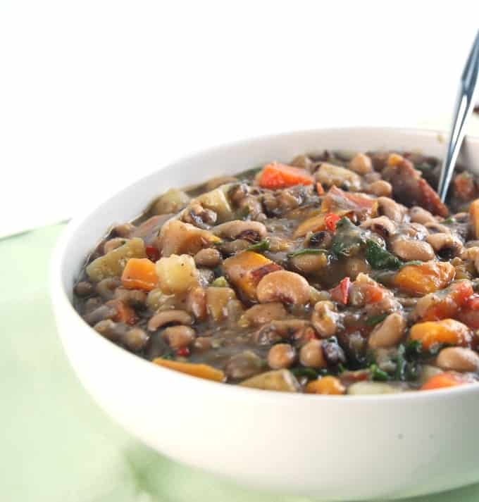 Caribbean Black Eyed Peas Stew