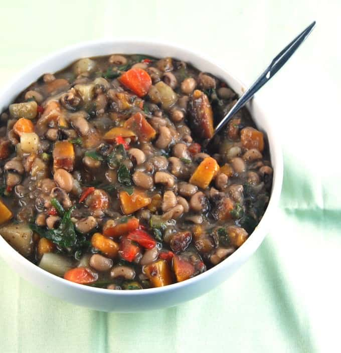 Black Eyed Peas Stew