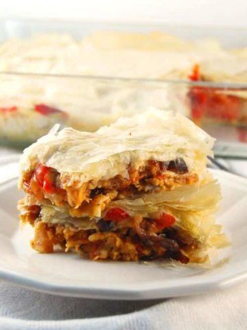 Filo Lasagna #vegan