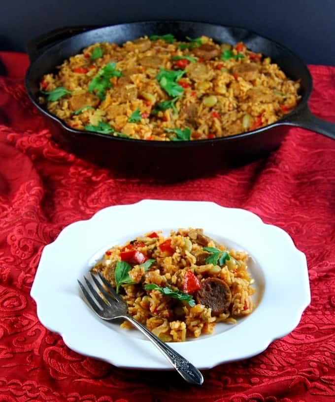 Vegan Vegetable Paella - holycowvegan.net
