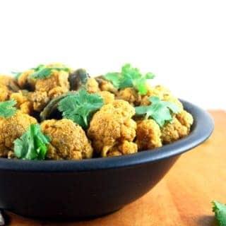 Gobi Achari | Cauliflower With Five Spices