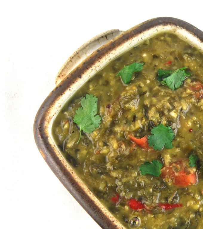 Methi Dal, Fenugreek Dal - holycowvegan.net