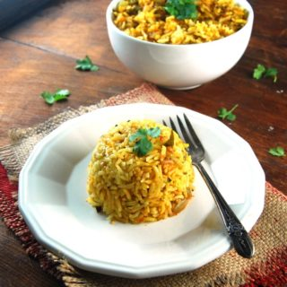 Methi Tomato Rice
