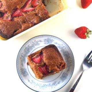 Vegan Strawberry Bread