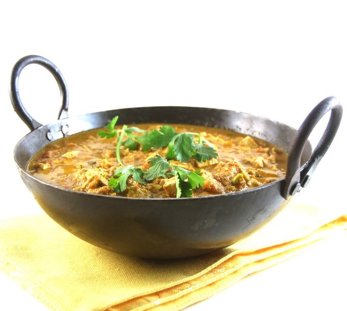 Tofu Egg Curry, an Indian style curry