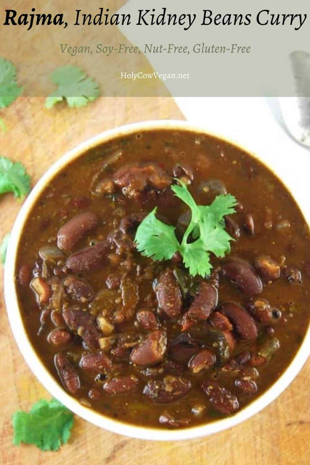 Rajma Indian Kidney Beans Curry Holy Cow Vegan Recipes