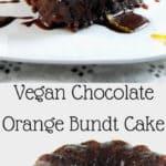 Vegan Chocolate Orange Bundt Cake - HolyCowVegan.net
