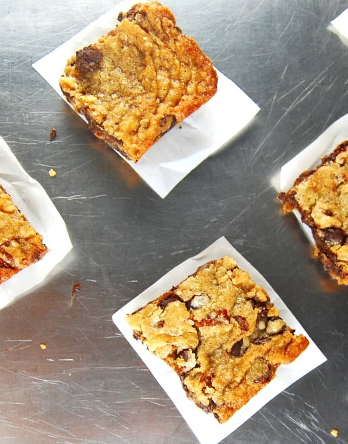 Whole Wheat Chocolate Chunk Bars Holy Cow Vegan Recipes