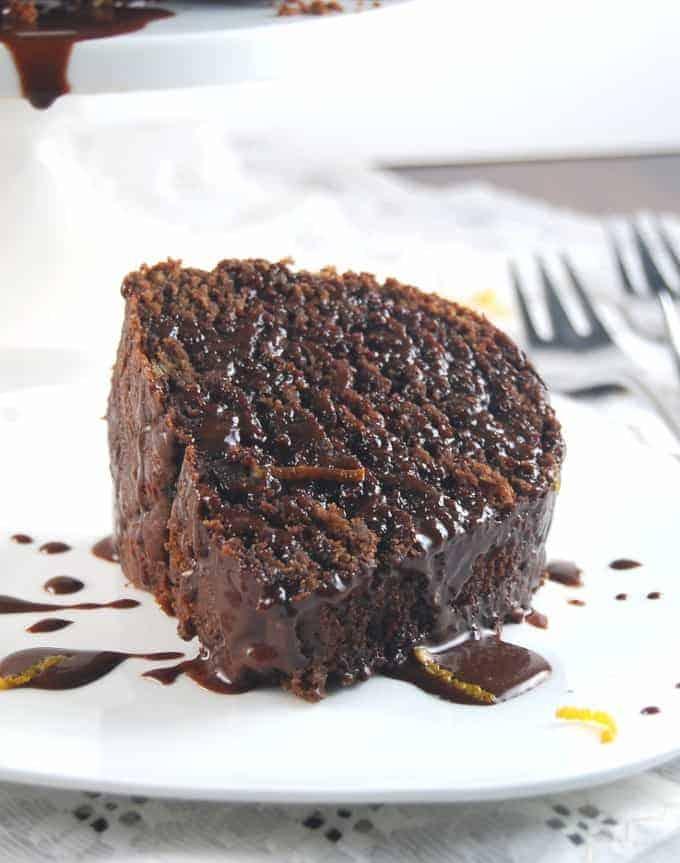 Whole Wheat Chocolate Bundt Cake