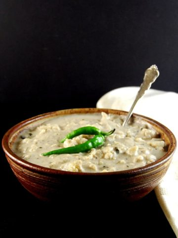 Creamy Cauliflower Curry. Malai Gobi https://holycowvegan.net