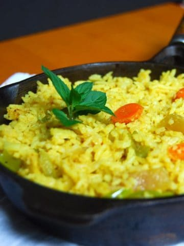 Indian-Style 15-Minute Vegetable Fried Rice