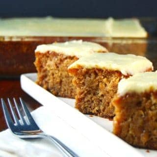 Vegan Squash Cake with Pineapple Frosting