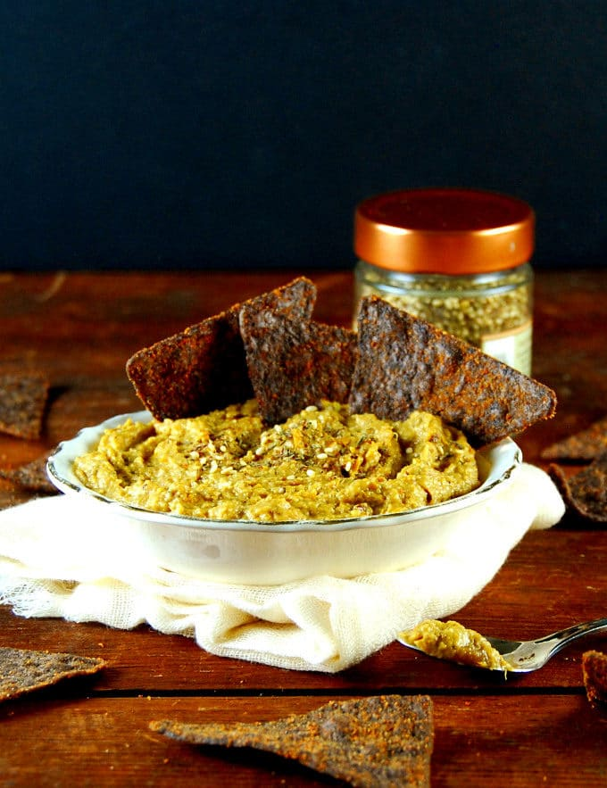 Roasted Squash Dip with Za'atar.