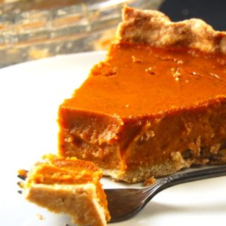 Tarte à la Citrouille …or a Pumpkin Pie by Another Name