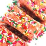 Pink Lemonade Cookie Bars