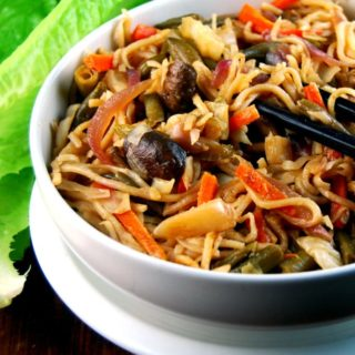 Veg Hakka Noodles, an Indo-Chinese Street Food Stalwart
