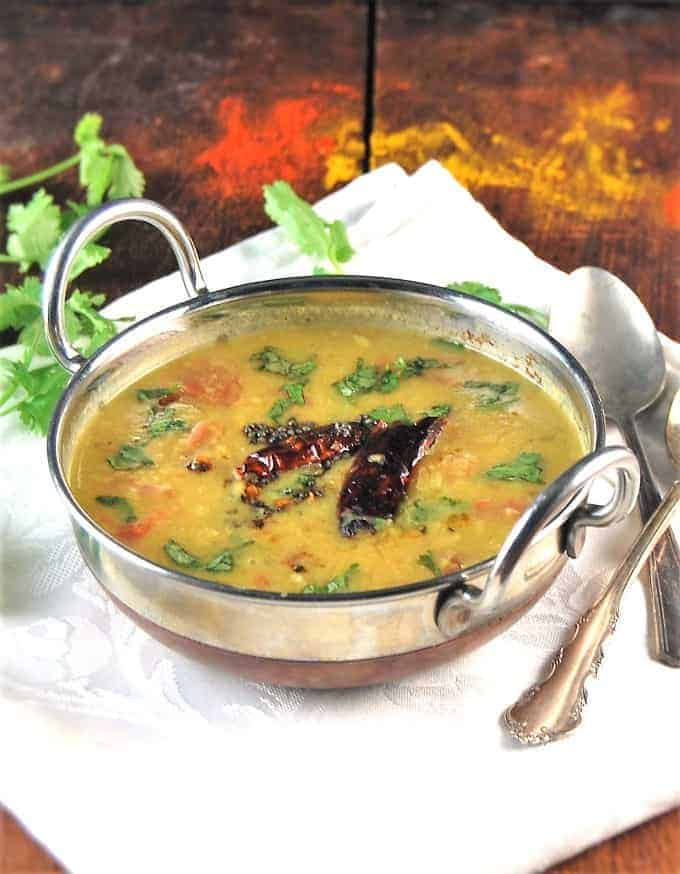 Dal Tadka • Holy Cow! Vegan Recipes