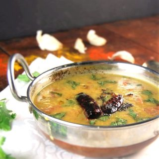 Dal Tadka. Lentils tempered with spices.