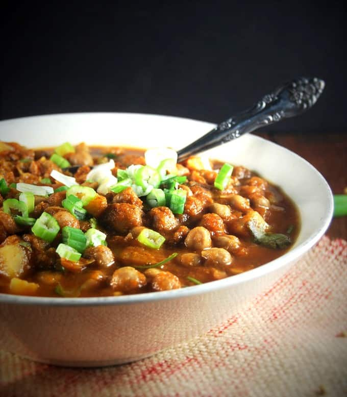 Slow Cooker Chana Masala - holycowvegan.net