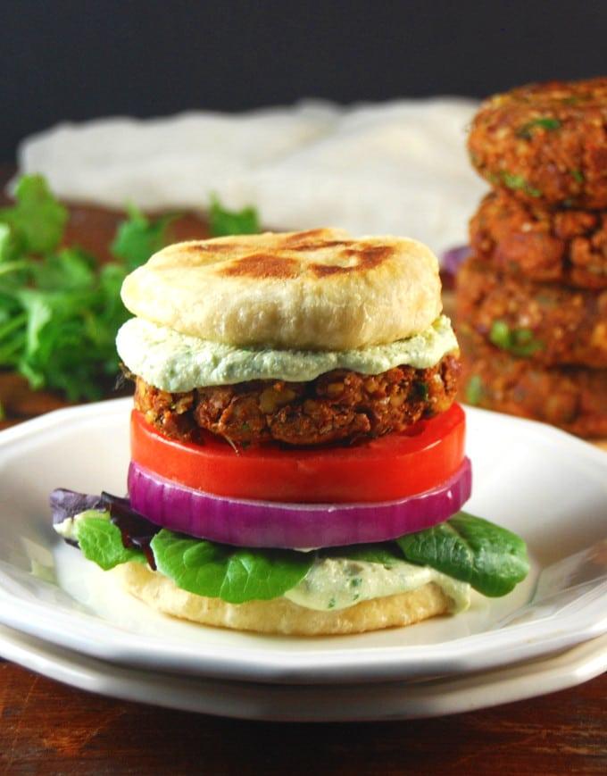 Tandoori Naan Burger