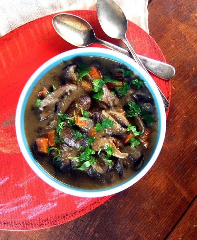 Vegan Wild Mushroom Osso Buco