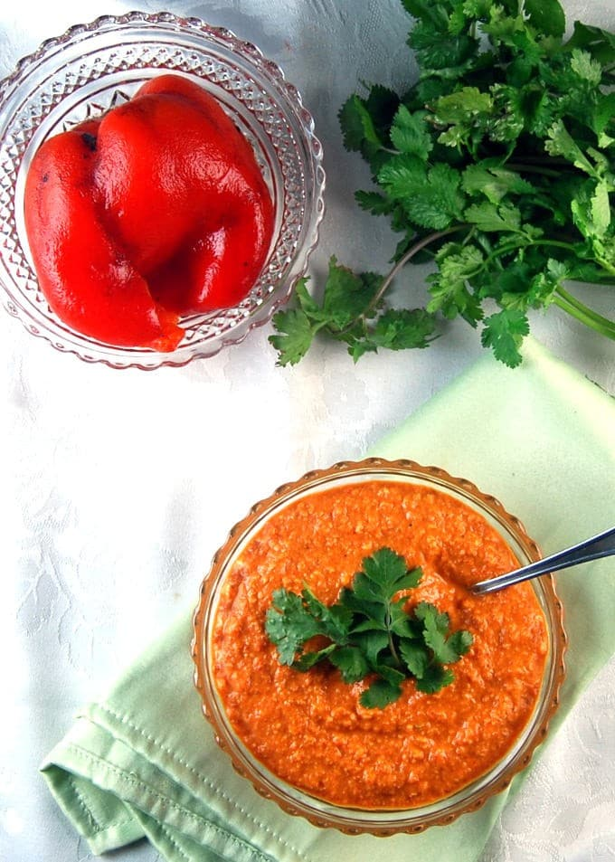 Roasted Red Pepper Chutney