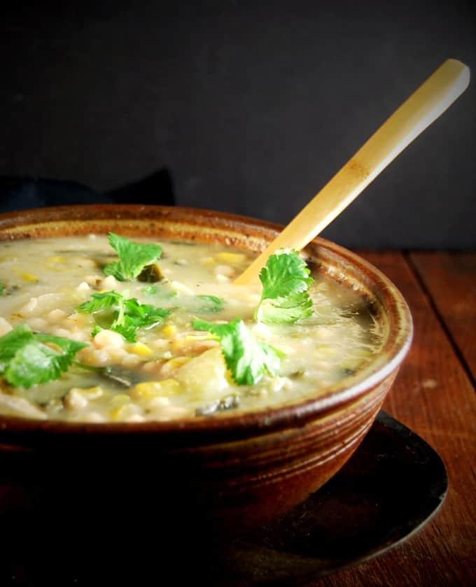 Pressure Cooker White Bean Chili • Holy Cow! Vegan Recipes
