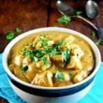Blender Tofu Curry, vegan and gluten-free
