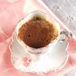 Vegan Chocolate Vanilla Pots de Creme
