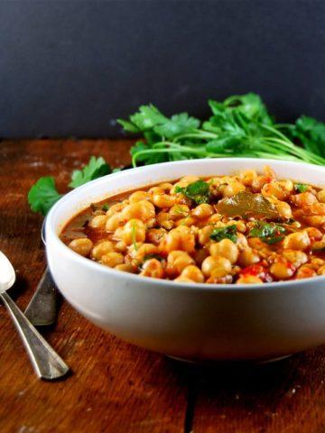 Vegan Lebanese Chickpea Stew