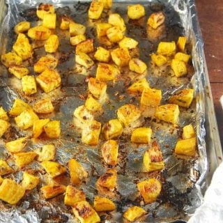 Roasted Golden Beets with Rosemary and Garlic