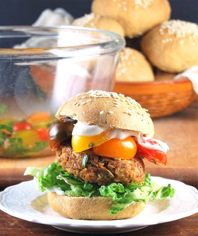 Whole Wheat Burger Buns