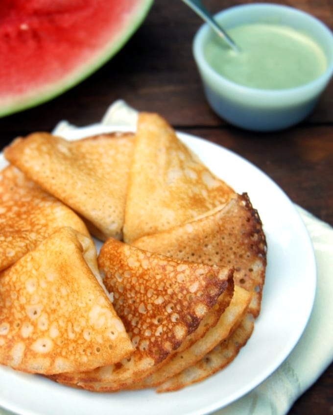 Watermelon Rind Dosa