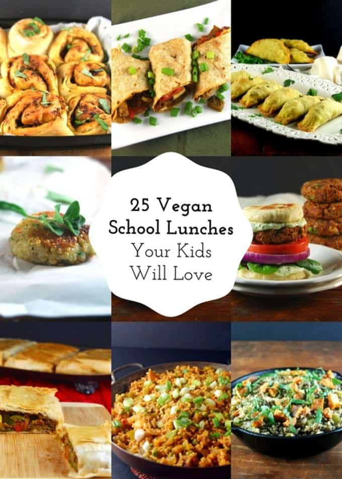 25 vegan school lunches your kids will love