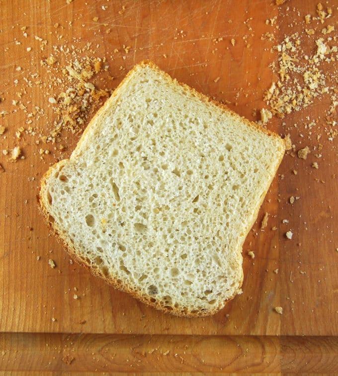 Vegan Sourdough Sandwich Bread