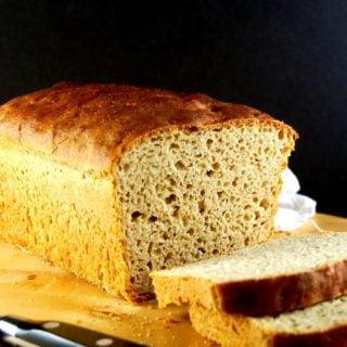All Whole Wheat Sourdough Sandwich Bread