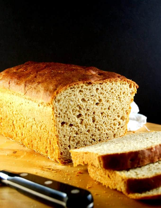 All Whole Wheat Sourdough Sandwich Bread • Holy Cow! Vegan Recipes