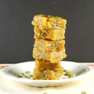 Chana Dal Burfi, a vegan Indian sweet