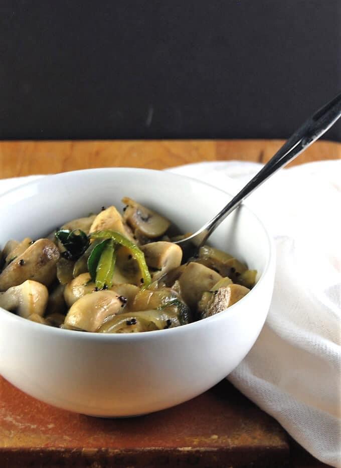 15-Minute Stir-Fried Mushrooms
